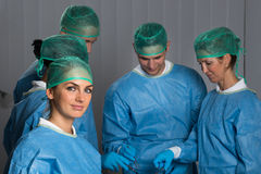 Doctors In Operating Room Royalty Free Stock Photography