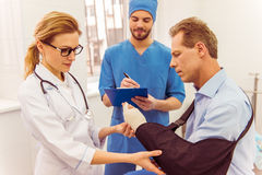 Doctors and patient Royalty Free Stock Image
