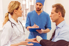 Doctors and patient Stock Photo