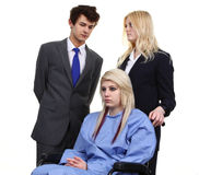 Doctors and patient Stock Images