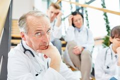Doctors and physicians brainstorming Stock Images