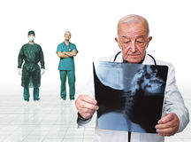Doctors portrait Royalty Free Stock Photography