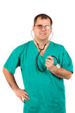 Doctors posing Stock Images