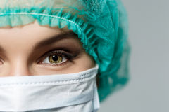 Doctors's eyes Royalty Free Stock Photography
