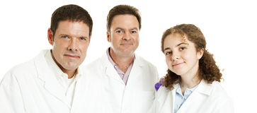 Doctors or Scientists Banner Royalty Free Stock Photography