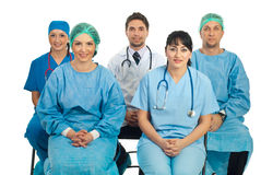 Doctors at seminar Royalty Free Stock Images