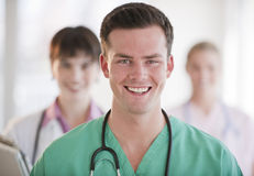 Doctors Smiling Stock Photos