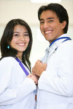 Doctors smiling Royalty Free Stock Photography