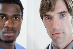 Doctors staring Royalty Free Stock Image