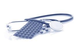 Doctors stethoscope stock photo
