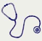 Doctors stethoscope Royalty Free Stock Photos