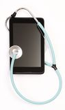 Doctors stethoscope and doctors stethoscope Royalty Free Stock Image