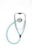 Doctors stethoscope on white background Stock Image