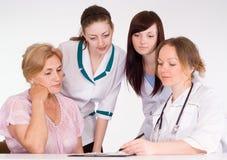 doctors tålmodign Royaltyfria Bilder