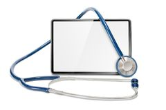 Doctors tablet Stock Photo