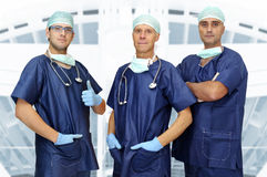 Doctors team Royalty Free Stock Photo