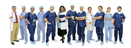 Doctors team Royalty Free Stock Photos
