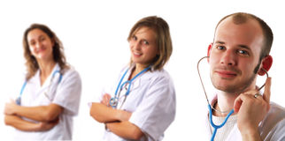 Free Doctors Team Royalty Free Stock Image - 5595506