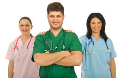 Doctors team cooperation Royalty Free Stock Photos