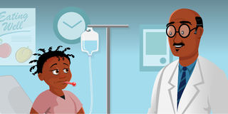Doctors visit Royalty Free Stock Photography
