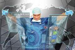 Doctors world Stock Photography
