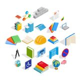 Doctrine icons set, isometric style. Doctrine icons set. Isometric set of 25 doctrine vector icons for web isolated on white background Stock Images