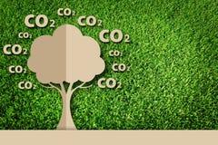 Document besnoeiing van eco Stock Afbeeldingen