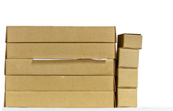 Document box brown. Royalty Free Stock Photo