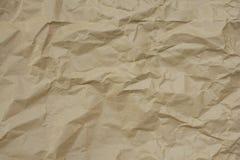 Document bruine textuur als achtergrond Stock Fotografie