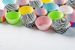 Document capsules voor capcake stock afbeelding