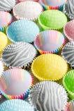 Document capsules voor capcake stock foto's
