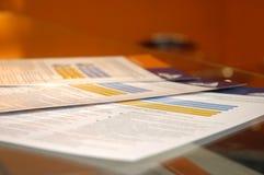 Document d'affaires Photo libre de droits