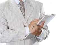 Document d'affaires Photographie stock libre de droits