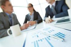 Document d'entreprise Image stock