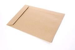 Document d'enveloppe de Brown images stock