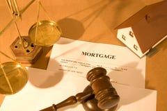Document d'hypothèque Photo libre de droits