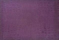 Document de huidpatroon van de textuurkrokodil Royalty-vrije Stock Foto's