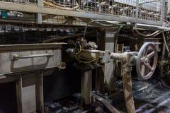 Document de Industriële Stap Eq van Mesh Production Continuous Drying First stock afbeelding
