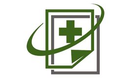 Document de santé de Digital illustration stock