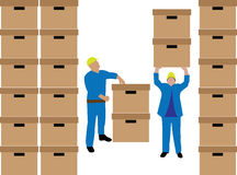 Document delivery Royalty Free Stock Images