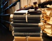 Document documenten in archief royalty-vrije stock foto