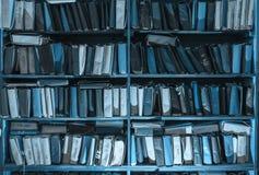 Document documenten die in archief worden gestapeld royalty-vrije stock fotografie