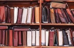 Document documenten die in archief worden gestapeld royalty-vrije stock foto's