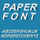Document doopvontontwerp voor typographyon stock illustratie