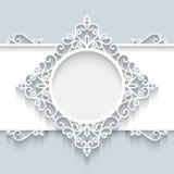 Document etiket Royalty-vrije Stock Foto