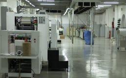 Document Fabriek royalty-vrije stock afbeelding