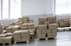 Document Fabriek stock afbeeldingen