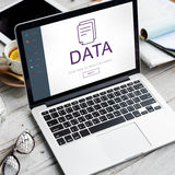 Document File Data Information Concept. Document File Data Information Technology Concept stock photo