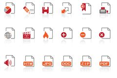 Document & File formats |part 19 series 1 Stock Photo
