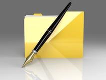 Document Folder Stock Image